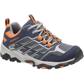 Merrell Moab FST Lave sko Vandtæt Børn, blå